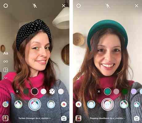 filtro de realidade aumentada